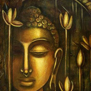Buddha paintings on canvas buddha paintings painting by indian code fhbp 04 sciox Image collections