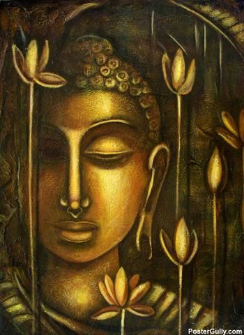 Buddha Paintings On Canvas Buddha Paintings Painting By