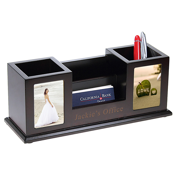 Picture Frame Pen Holder Pen Holder With Photo Frame