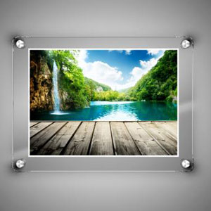 Frameless Picture Frames Frameless Photo Frames