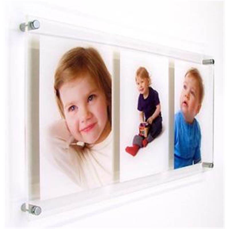 Acrylic frames wholesale suppliers frameless clear - Porta poster plexiglass ...
